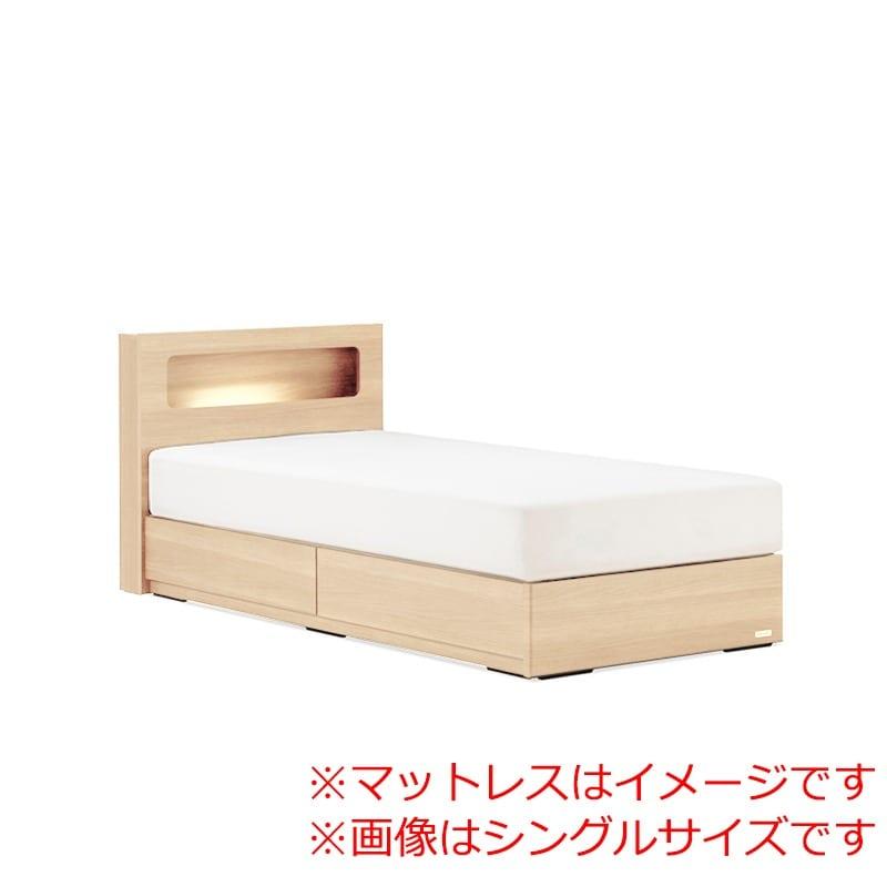 セミダブルベッド AN70C引付/ZT−PWプレミア ナチュラル:◆人気のフランスベッド70周年記念モデルです。