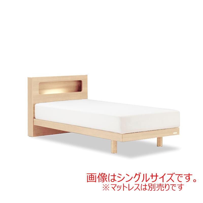 ダブルフレーム AN70Cレッグ ナチュラル:◆人気のフランスベッド70周年記念モデルです。※マットレス別売となります