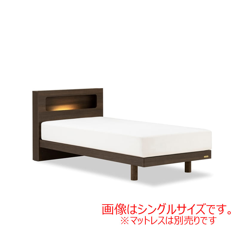 ダブルフレーム AN70Cレッグ ブラウン:◆人気のフランスベッド70周年記念モデルです。※マットレス別売となります