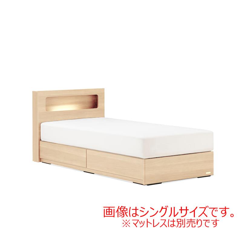 セミダブルフレーム AN70C引付 ナチュラル:◆人気のフランスベッド70周年記念モデルです。※マットレス別売となります