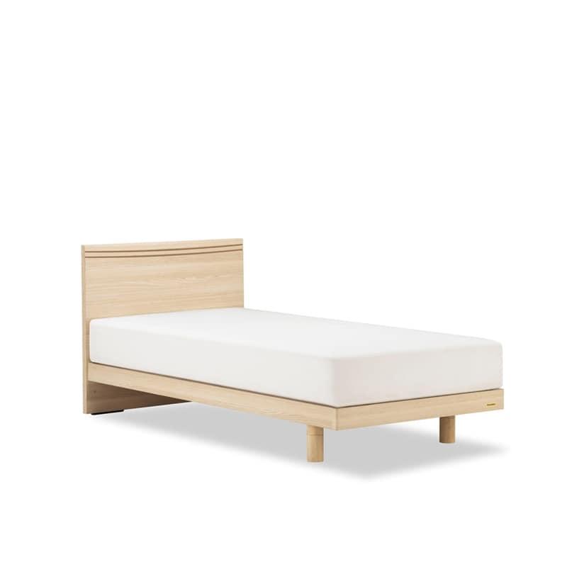 シングルベッド AN70Fレッグ/ZT−030 ナチュラル