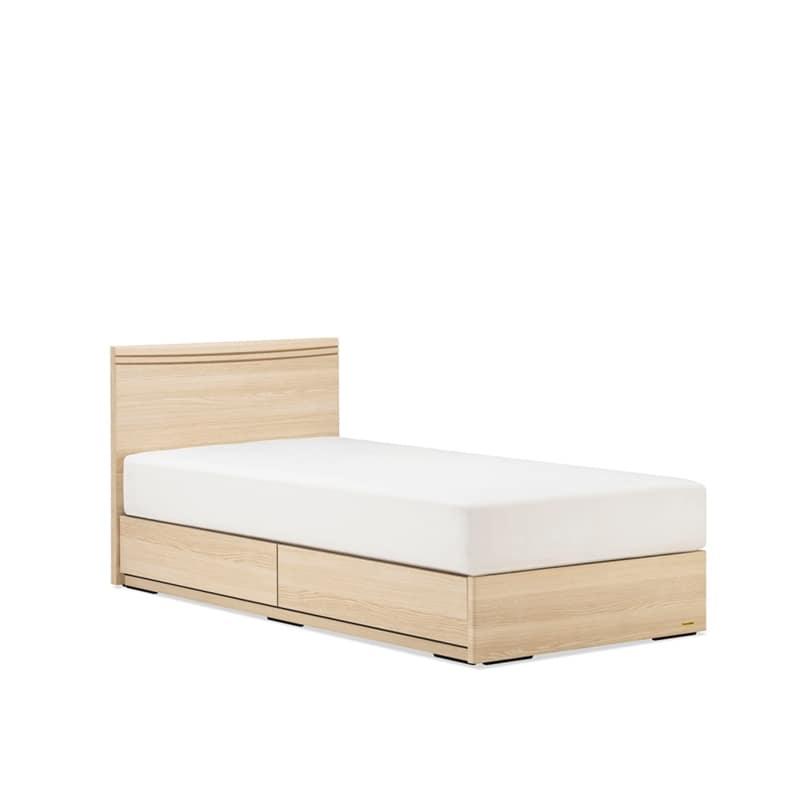 シングルベッド AN70F引付/ZT−030 ナチュラル:◆人気のフランスベッド70周年記念モデルです