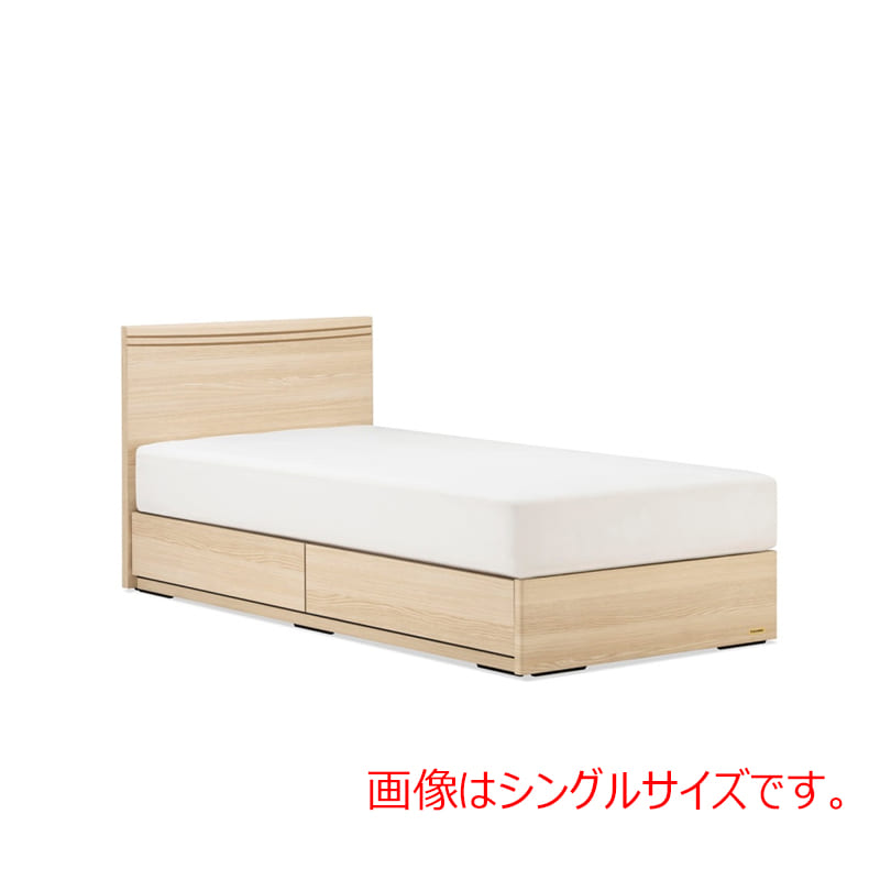 ダブルベッド AN70F引付/ZT−030 ナチュラル:◆人気のフランスベッド70周年記念モデルです