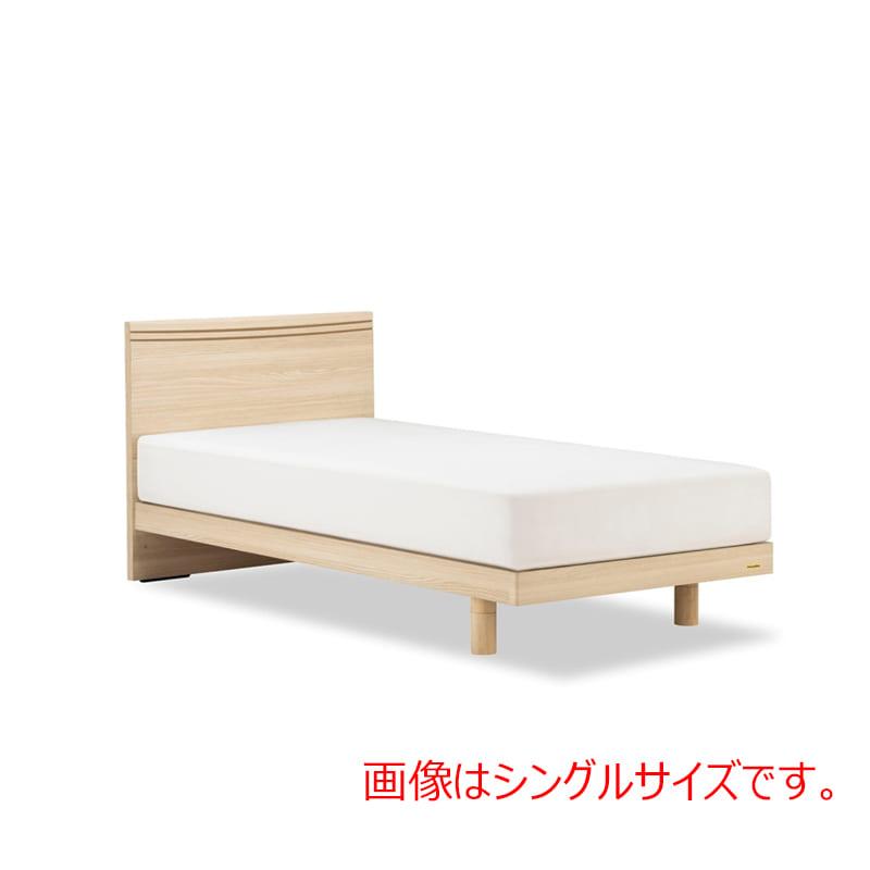 ダブルベッド AN70Fレッグ/ZT−PWプレミア ナチュラル:◆人気のフランスベッド70周年記念モデルです