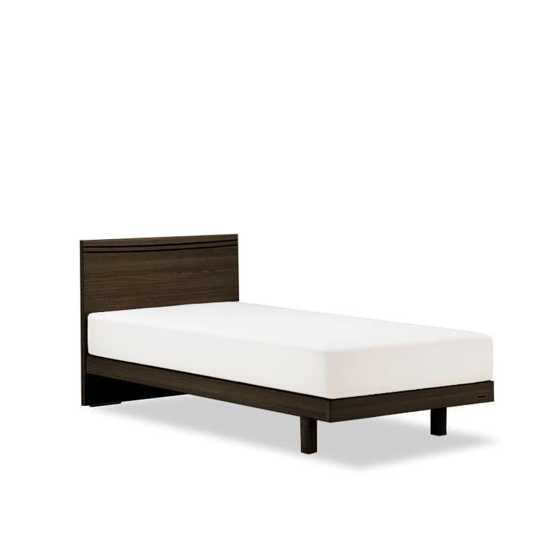 シングルベッド AN70Fレッグ/ZT−PWプレミア ブラウン:◆人気のフランスベッド70周年記念モデルです