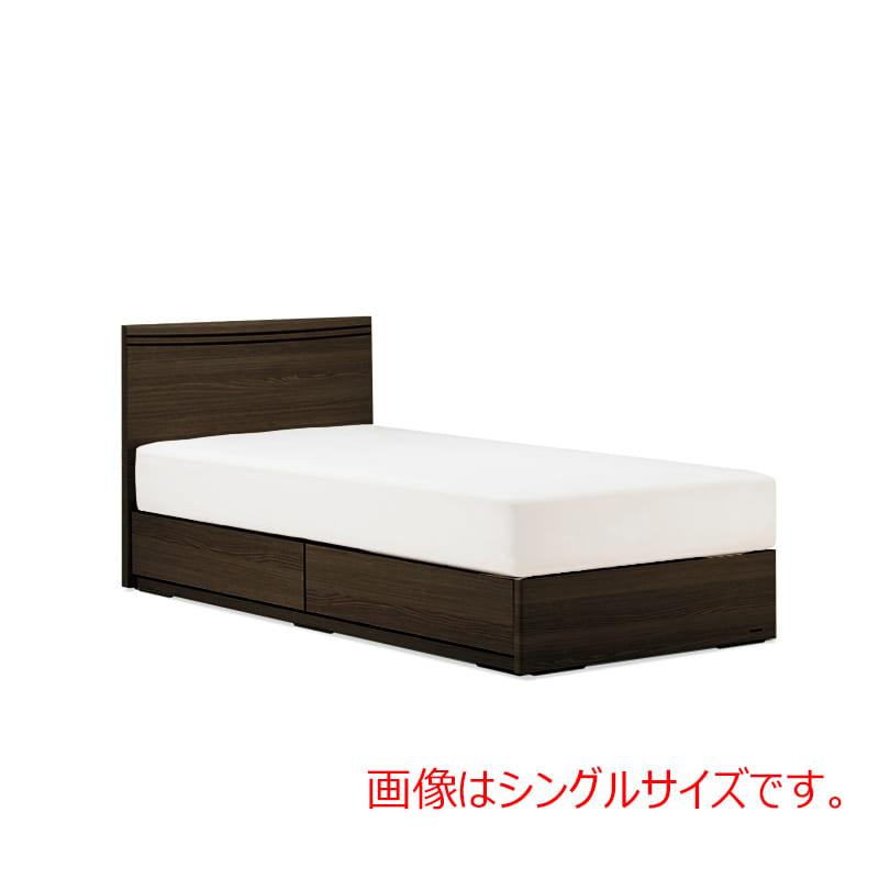 ダブルベッド AN70F引付/ZT−PWプレミア ブラウン:◆人気のフランスベッド70周年記念モデルです