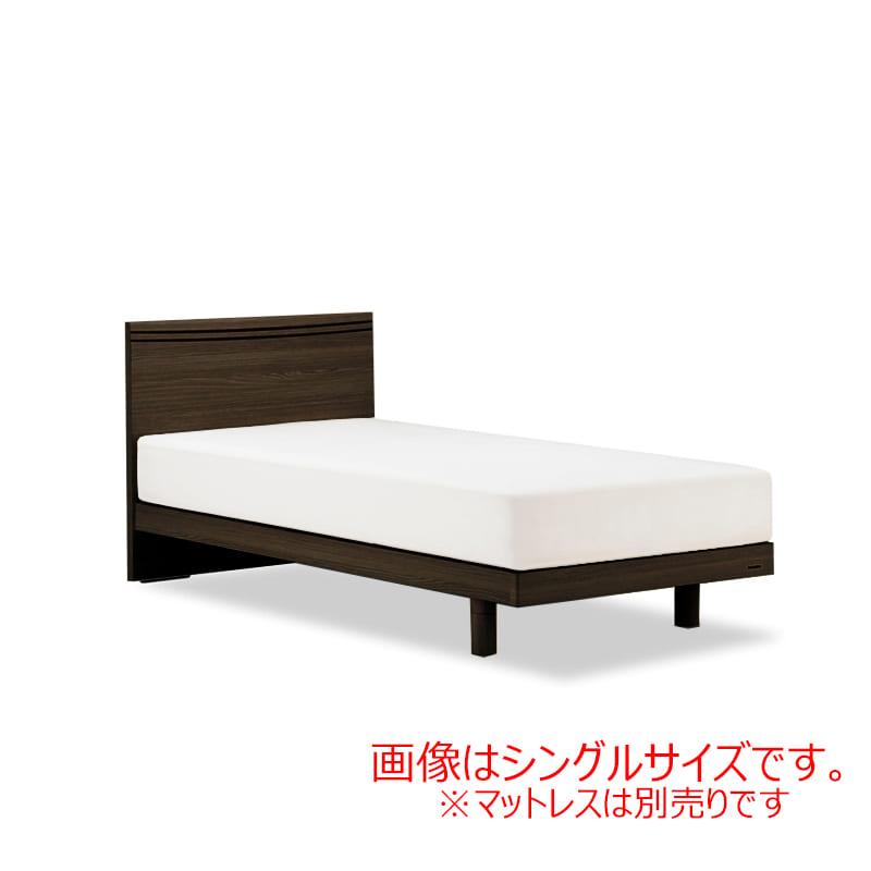 セミダブルフレーム AN70Fレッグ ブラウン:◆人気のフランスベッド70周年記念モデルです。※マットレスは別商品となります