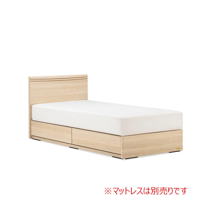 シングルフレーム AN70F引付 ナチュラル:◆人気のフランスベッド70周年記念モデルです。※マットレスは別商品となります