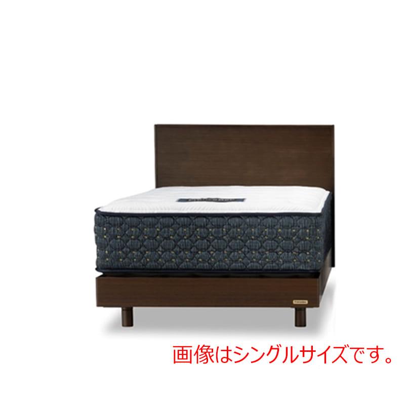 クィーン1ベッド PR70−07F/DDEX ウォールナット:◆人気のフランスベッド70周年記念モデルです
