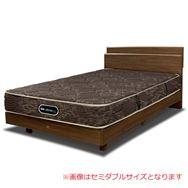 【シモンズ55周年記念商品】シングルベッド グランゲート桐床ST/AB19550 ミディアム