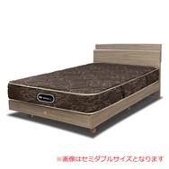 【シモンズ55周年記念商品】シングルベッド グランゲート桐床ST/AB19550 グレージュ