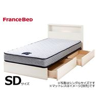 フランスベッド セミダブルフレーム チョイスミーC�T 225引付 WH