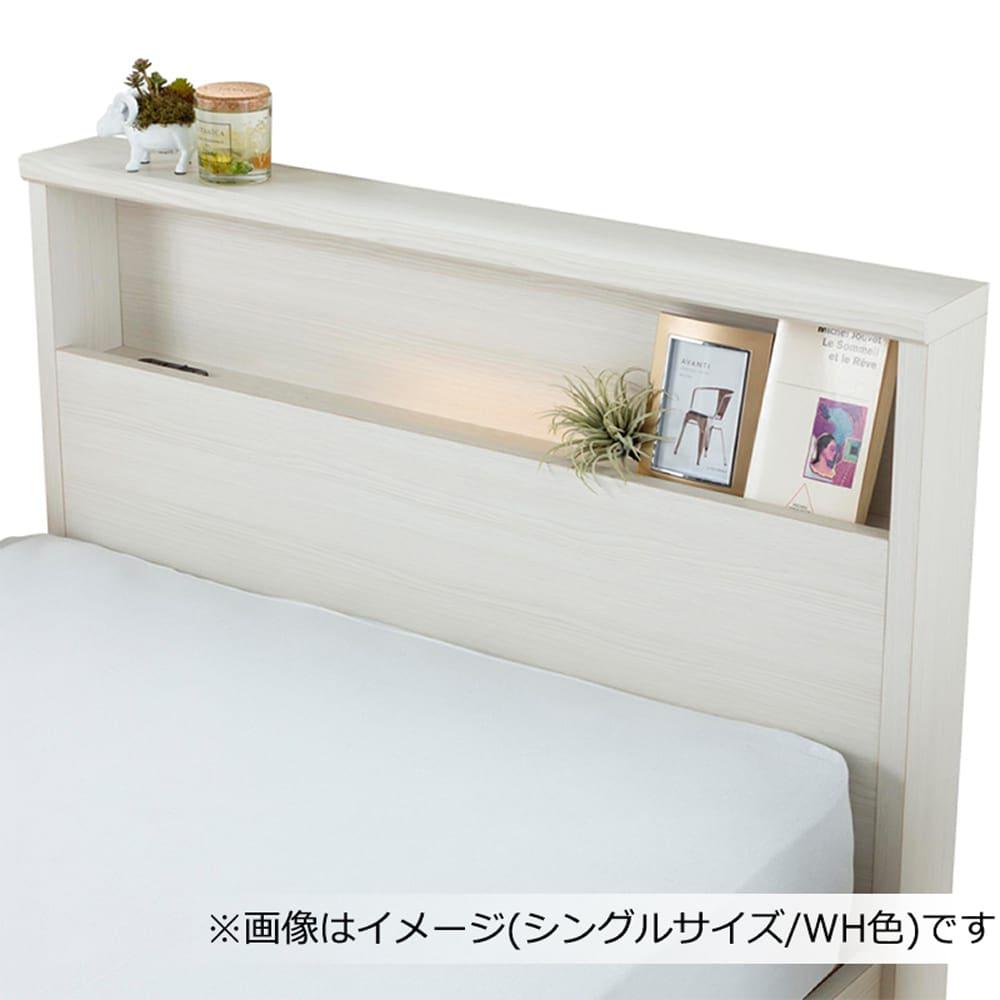 フランスベッド セミダブルフレーム チョイスミーC�T 300引付 WH
