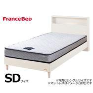 フランスベッド セミダブルフレーム チョイスミーC�T 260レッグ WH