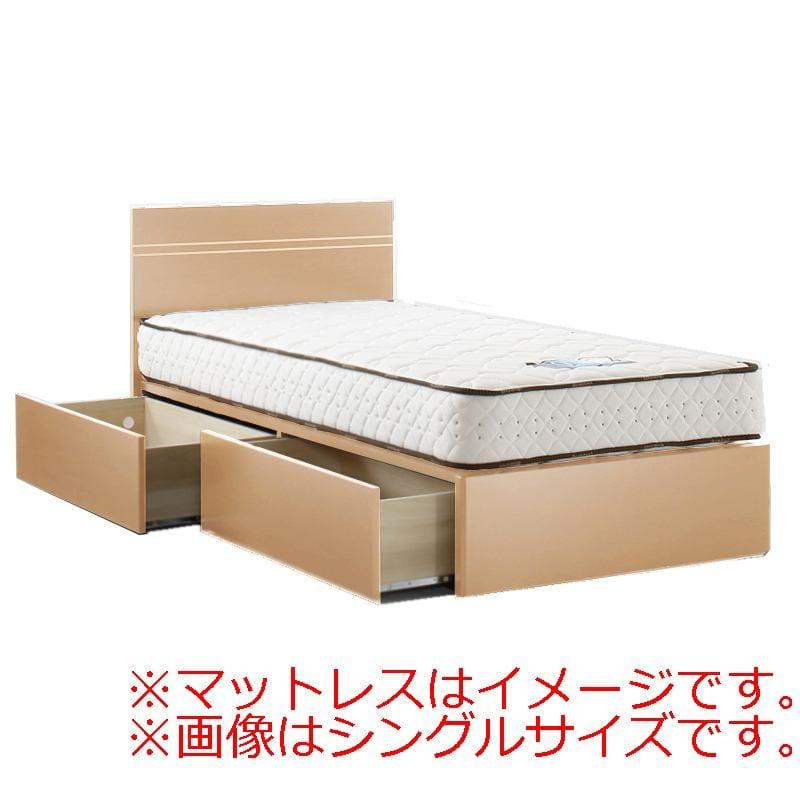 セミダブルフレーム イーポイント2703 BOX(引出)220H RO:「欲しい」がきっと見つかる。豊富なボトムバリエーションのベッドフレーム。