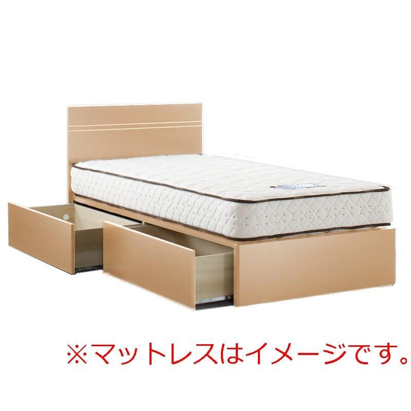 シングルフレーム イーポイント2703 BOX(引出)335H RO:「欲しい」がきっと見つかる。豊富なボトムバリエーションのベッドフレーム。