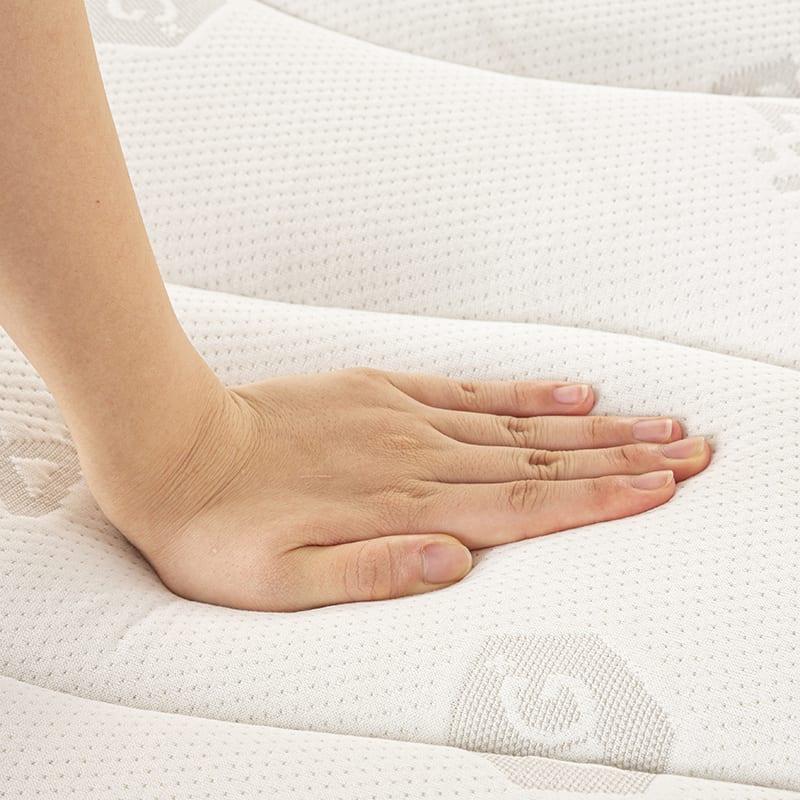 フランスベッド セミシングルマットレス Ag−ブレスク ハード:高密度連続スプリング