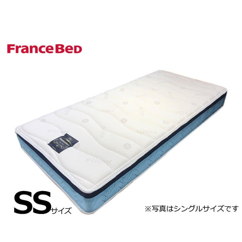 フランスベッド セミシングルマットレス Ag−ブレスク PW:◆サイドメッシュ採用で高通気のマットレス!