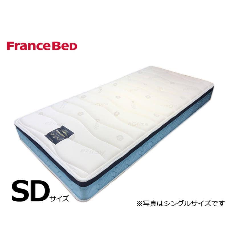 フランスベッド セミダブルマットレス Ag−ブレスク PW:◆サイドメッシュ採用で高通気のマットレス!
