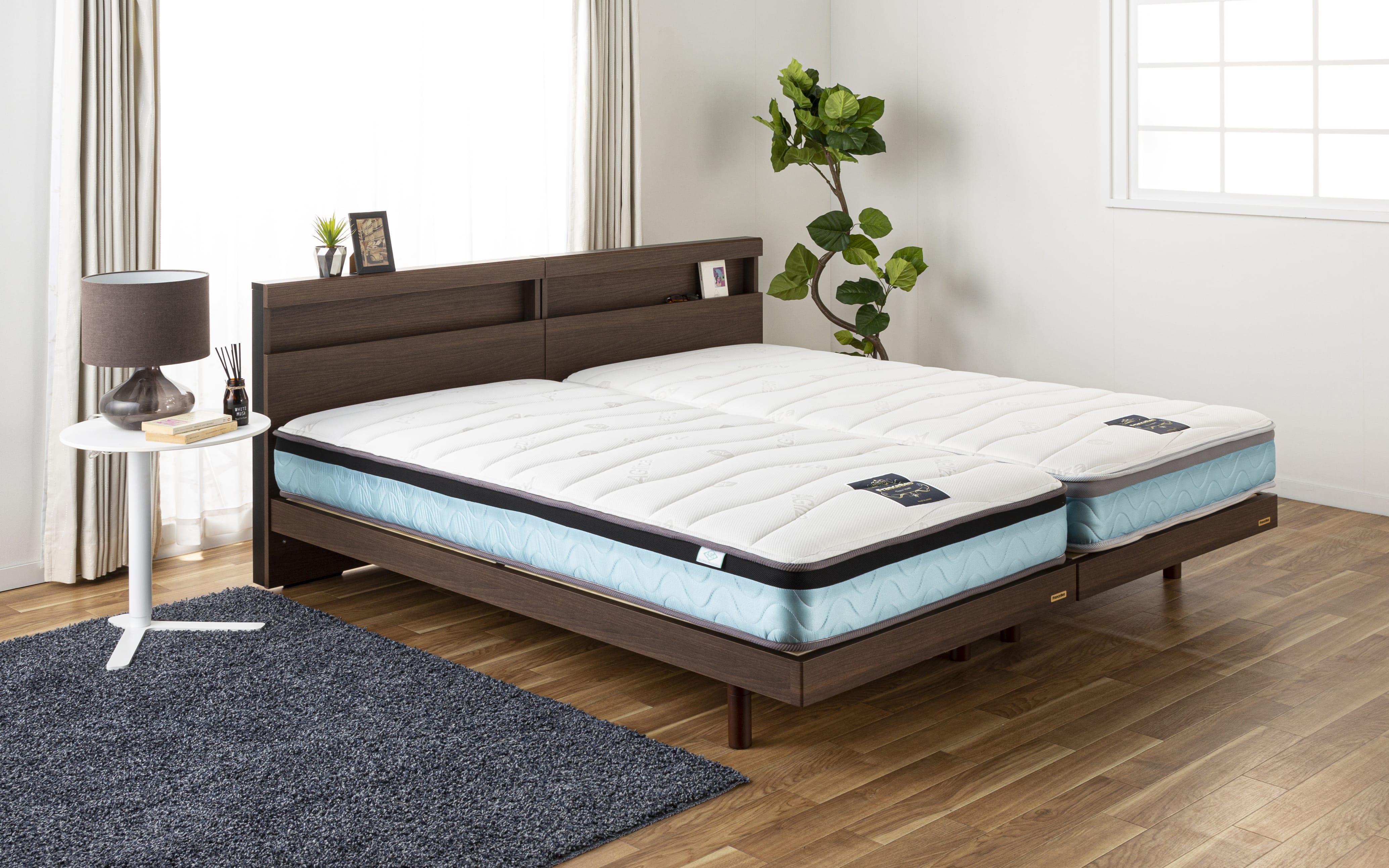 フランスベッド セミダブルマットレス Ag−ブレスク PW:フランスベッドの最高級マットレス