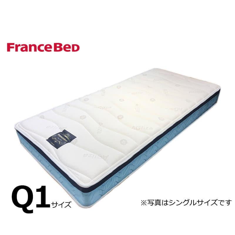フランスベッド クイーン1マットレス Ag−ブレスク PW:◆サイドメッシュ採用で高通気のマットレス!