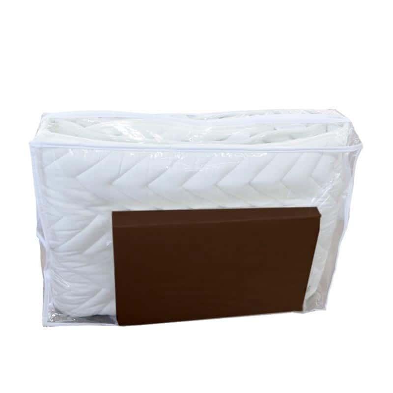 【寝装品2点セット】シングル(ベッドパッド、ボックスシーツ)BR(ブラウン)