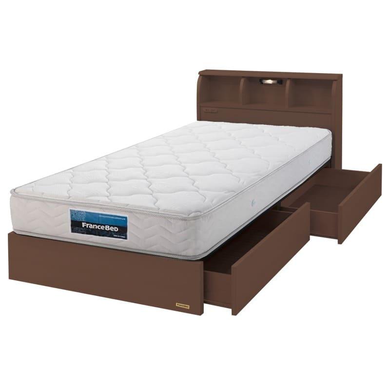 フランスベッド シングルベッド コスモプラス/BO−030 ペールアンバー
