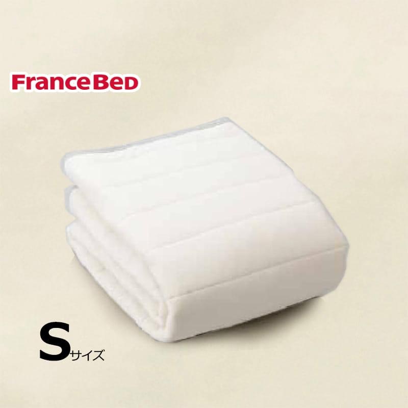寝装品3点パック ウールブレンドSTD3点 S キナリ:リバーシブル使用のベッドパット