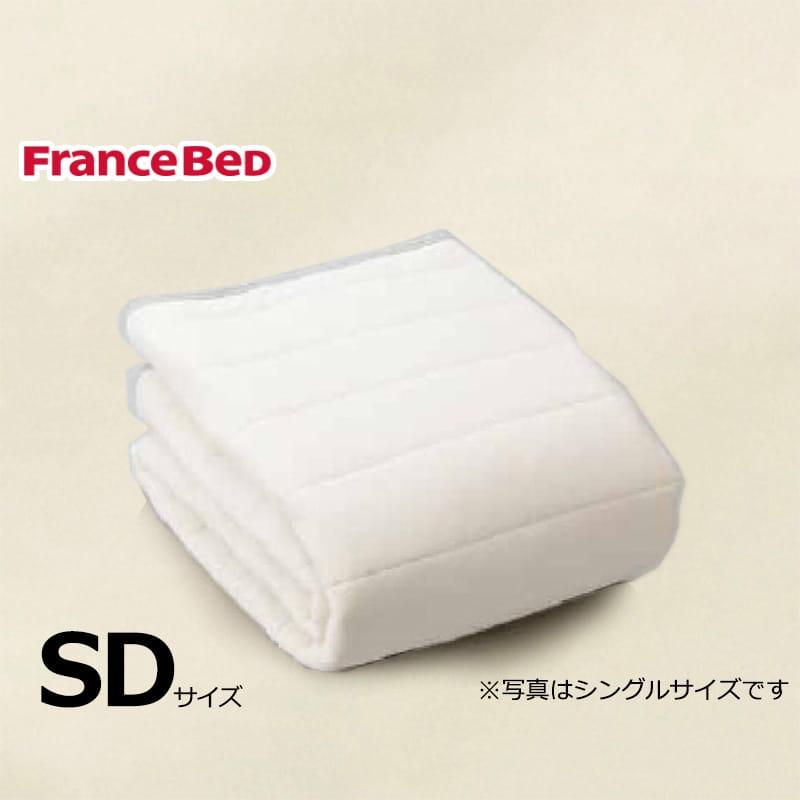 寝装品3点パック ウールブレンドSTD3点 M キナリ:リバーシブル使用のベッドパット
