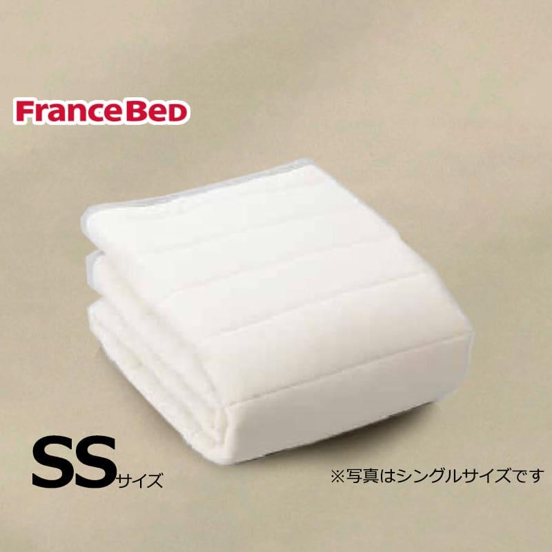 寝装品3点パック ウールブレンドSTD3点 SS ベージュ:リバーシブル使用のベッドパット