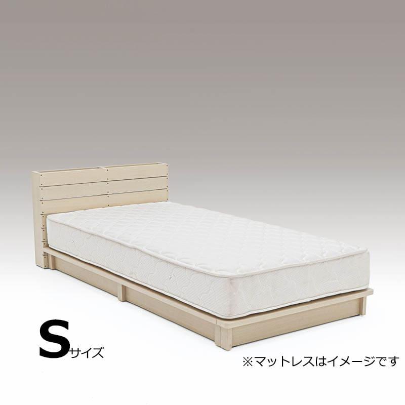 シングルフレーム パレット L−OAK ※マットレス別売※:DIYで人気のパレットをイメージしたデザインのベッドフレームです。