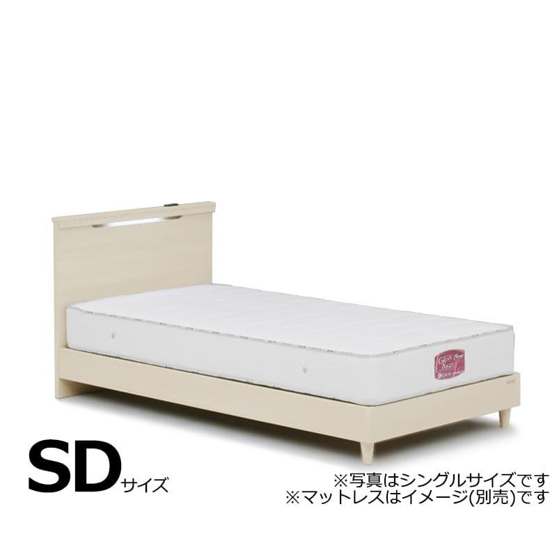 セミダブルフレーム ルディ 引無:◆省スペース対応:全長が2メートル以下なのでお部屋に収まりやすいサイズです。