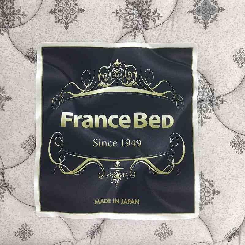 フランスベッド シングルベッド寝装品付き コスモプラス/ZTゼウス(ホワイト)/スリープセット(ホワイト)
