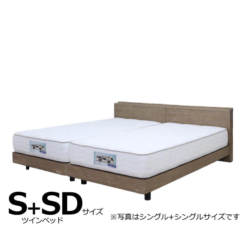 ツインベッド ギャラクシーCLG(キャビネット)+ブルーベーシックS+SD:日本製Fフォースター(F★★★★)モデルです。