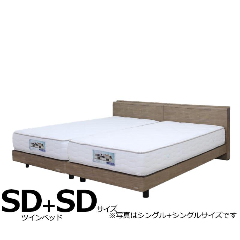 ツインベッド ギャラクシーCLG(キャビネット)+ブルーベーシックSD+SD:日本製Fフォースター(F★★★★)モデルです。