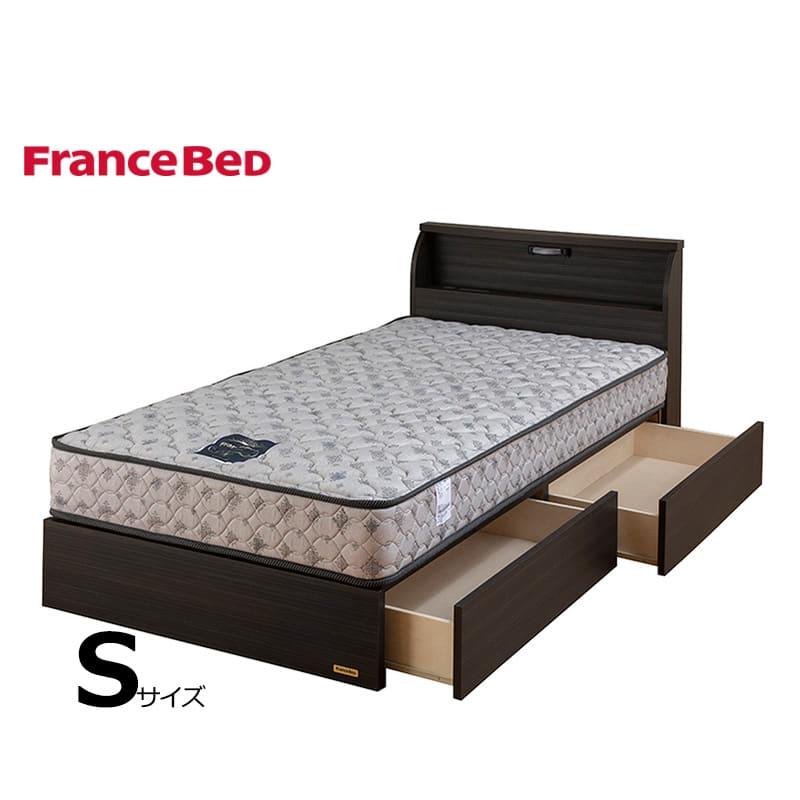 シングルベッド コスモプラス�U/ZTゼウス ブラック:フランスベッドの人気シリーズ