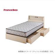 シングルベッド コスモプラス�U/シルバー800FT2 ホワイト