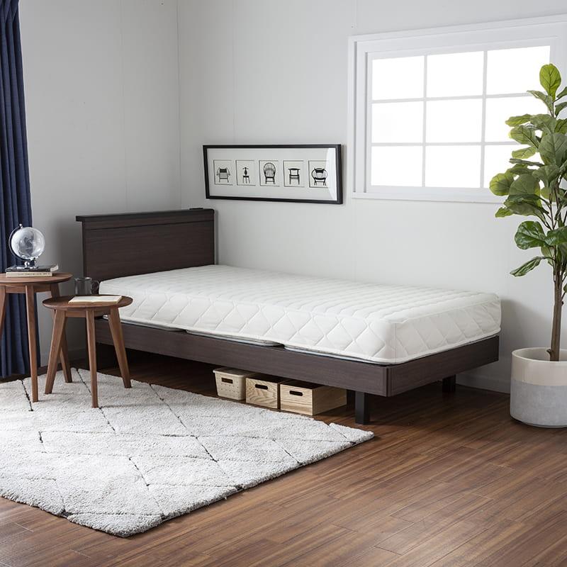 シングルマットレス シングルマットレス ONE TWO SLEEP 002(HHH)スタンダード:3分割できるマットレスです