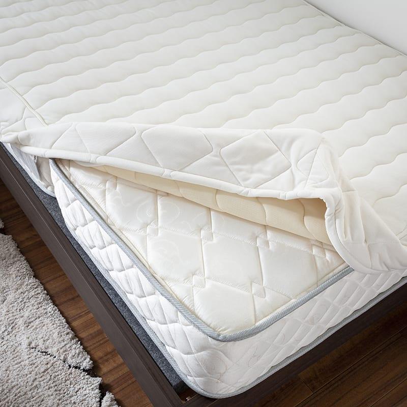 シングルマットレス シングルマットレス ONE TWO SLEEP 002(HHH)スタンダード:専用ボックスパッド