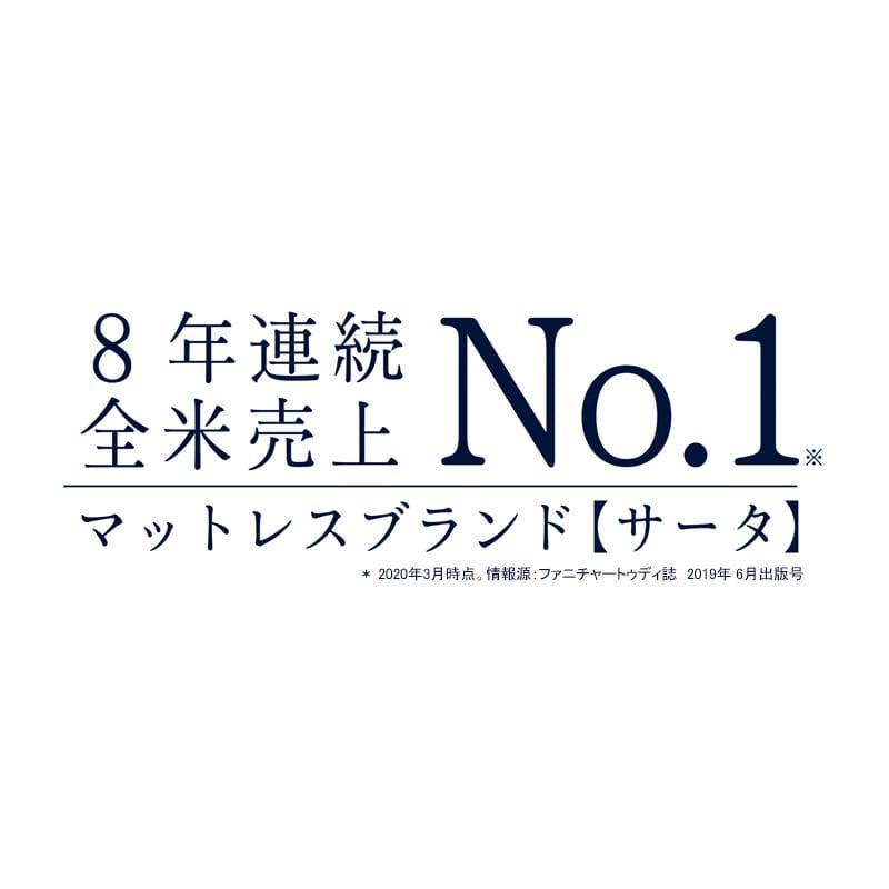 クイーン2−2マットレス サータペディック88S ソフト 9.0