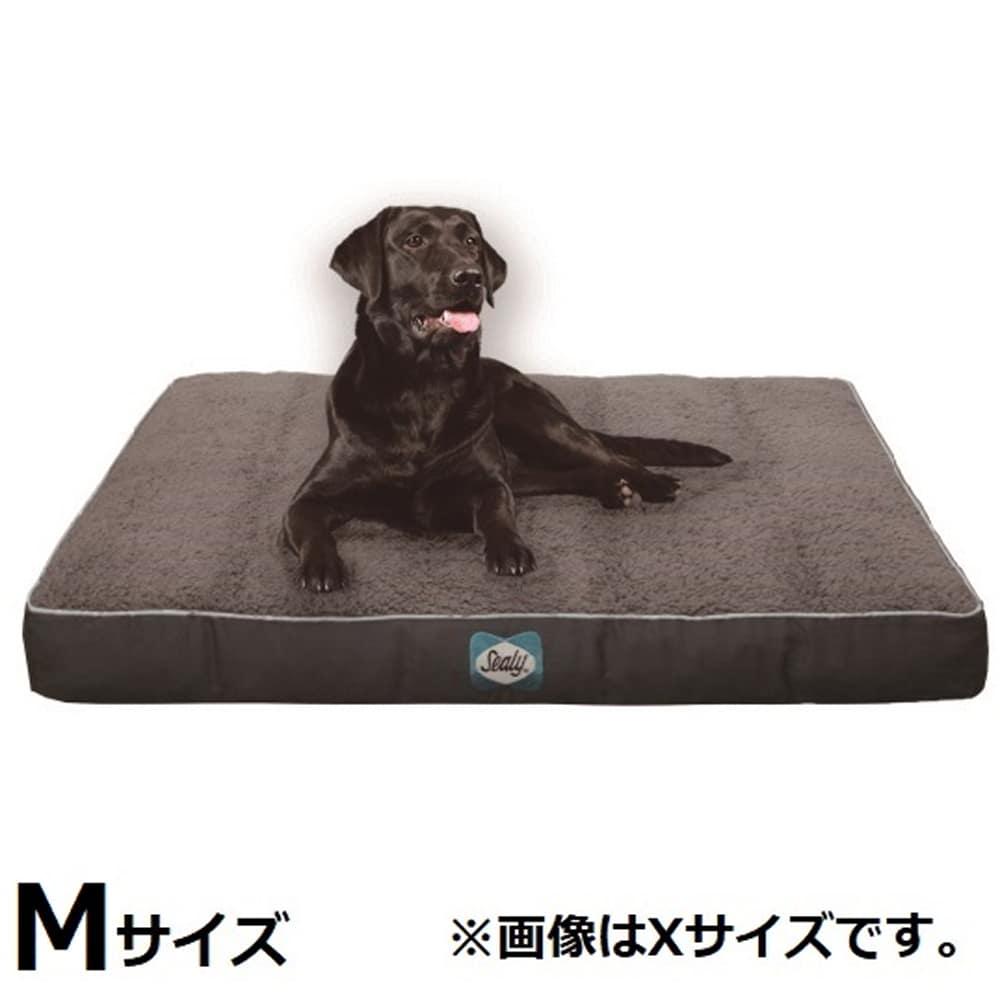 ドッグベッドMサイズ クシーコンフィ:表面の熱を分散することにより、体温を調節します