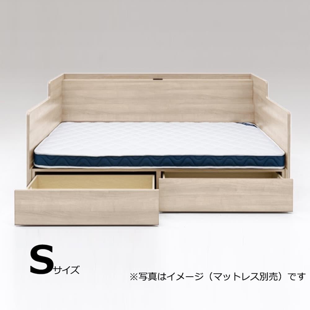 シングルベッドフレーム ウィズ DR MPL:ソファとベッドの1台2役のベッドフレーム!