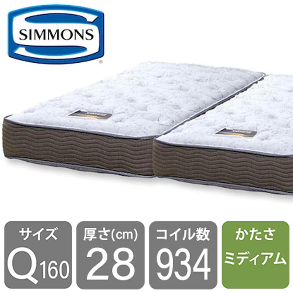 シモンズ 6.5インチGVスイートECO AB15S09(クィーン2マットレス):シマホNo.1マットレスがECO仕様へ