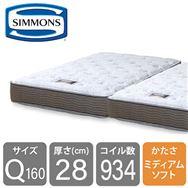 シモンズ 6.5インチNFスイートECO AB15S08(クィーン2マットレス)