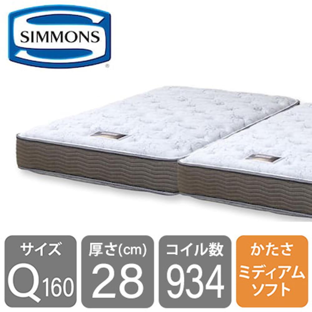 シモンズ 6.5インチNFスイートECO AB15S08(クィーン2マットレス):シマホNo.1マットレスがECO仕様へ