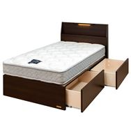 シングルベッド プロトナ330引付/シルバー800DX3−BL
