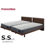 フランスベッド シングルツイン フィノ�Uレッグ/Agハイジェニック ソフト