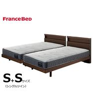 フランスベッド シングルツイン フィノ�Uレッグ/Agハイジェニック ソフト・ハード