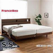 フランスベッド シングルツイン フィノ�Uレッグ/AgハイジェニックハードPW ハード