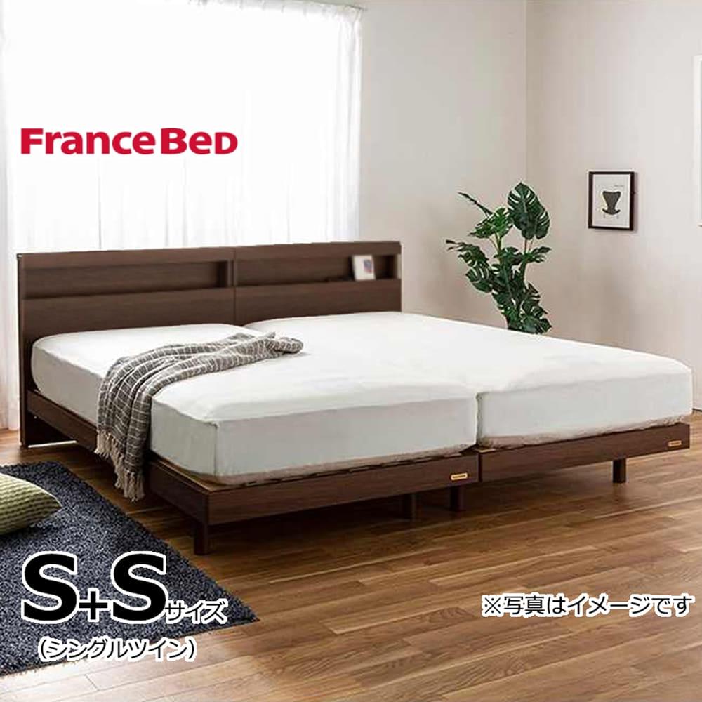 フランスベッド シングルツイン フィノ�Uレッグ/AgハイジェニックハードPW ハード:《フランスベッド社製の安心の国産シングルツインベッド》